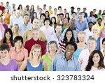 ethnicity diversity ethnic... | Shutterstock . vector #323783324