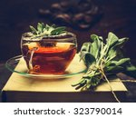 Herbal Tea Made From Sage In...