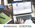 bangkok  thailand october 2... | Shutterstock . vector #323829206