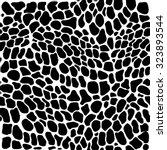 seamless reptile skin vector... | Shutterstock .eps vector #323893544