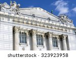the historic technical museum... | Shutterstock . vector #323923958