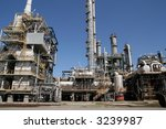 view of chemical factory | Shutterstock . vector #3239987