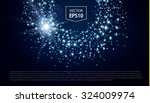 abstract bokeh backdground with ... | Shutterstock .eps vector #324009974