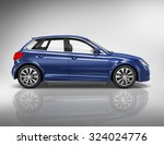 car vehicle transportation 3d... | Shutterstock . vector #324024776