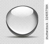 transparent bubble bowl big | Shutterstock . vector #324057584