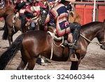 chile   rodeo de criadores... | Shutterstock . vector #324060344