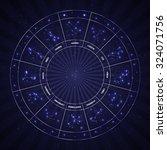 set of symbol zodiac sign....   Shutterstock .eps vector #324071756