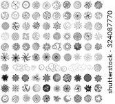Set Of Treetop Symbols For...