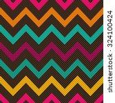 seamless vector geometric... | Shutterstock .eps vector #324100424