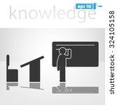 education icon  | Shutterstock .eps vector #324105158