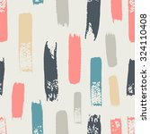 seamless pattern with color... | Shutterstock .eps vector #324110408