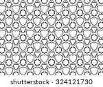 black and white ornament. 6.4  | Shutterstock . vector #324121730