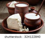 Rural Farm Dairy Products  Mil...