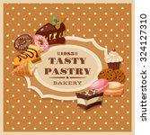 Vintage Bakery Flyer Frame Wit...