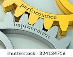 performance improvement concept ... | Shutterstock . vector #324134756