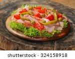 Ham Plate  Ham  Pepperoni ...