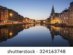 A view of the river lee in cork ...