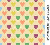 retro seamless pattern with... | Shutterstock .eps vector #324166286
