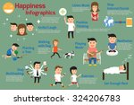 infographics. how to create... | Shutterstock .eps vector #324206783