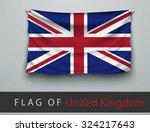 Flag Of United Kingdom Battere...
