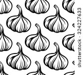 black and white seamless...   Shutterstock .eps vector #324227633