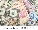 Dollars And Mexican Pesos...