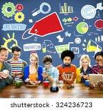 branding marketing advertising...   Shutterstock . vector #324236723