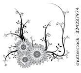 beautiful vector flower for... | Shutterstock .eps vector #324237974