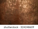 relief plates orange copper | Shutterstock . vector #324248609