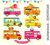 food truck vector design... | Shutterstock .eps vector #324250160