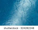 Beautiful Pattern Of Blue Wate...