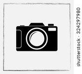 photo camera sign icon  vector... | Shutterstock .eps vector #324297980