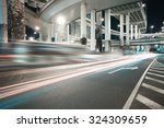 city road viaduct streetscape...   Shutterstock . vector #324309659