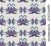 seamless pattern  graphic... | Shutterstock .eps vector #324316490