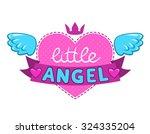 Little Angel Illustration  Cut...