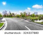clean road of city   rapid city ...   Shutterstock . vector #324337880