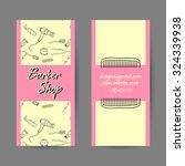sample of business card for... | Shutterstock .eps vector #324339938