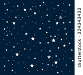 vector background. starry night ... | Shutterstock .eps vector #324343433
