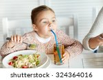 childhood  food and people... | Shutterstock . vector #324364016