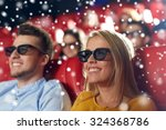 cinema  entertainment and... | Shutterstock . vector #324368786