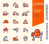 lineo colors   construction and ... | Shutterstock .eps vector #324369800