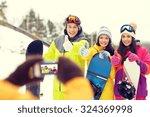 winter sport  technology ... | Shutterstock . vector #324369998