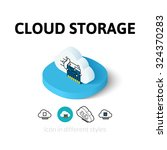 cloud storage icon  vector...
