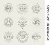 winemaking and winehouse label... | Shutterstock .eps vector #324372293
