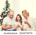 family  holidays  technology... | Shutterstock . vector #324372974