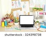 beautiful comfortable... | Shutterstock . vector #324398738