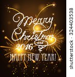 vector christmas messages shine ... | Shutterstock .eps vector #324403538
