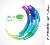 colorful abstract vector... | Shutterstock .eps vector #324403628