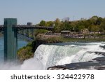the american water falls in... | Shutterstock . vector #324422978
