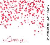 love is vector illustration of... | Shutterstock .eps vector #324445349